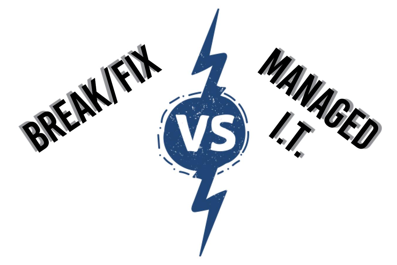 Break-fix vs Managed IT Services