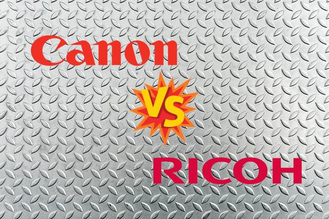 Canon vs Ricoh Copiers