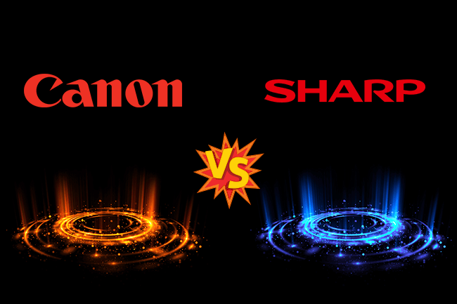 Canon vs Sharp
