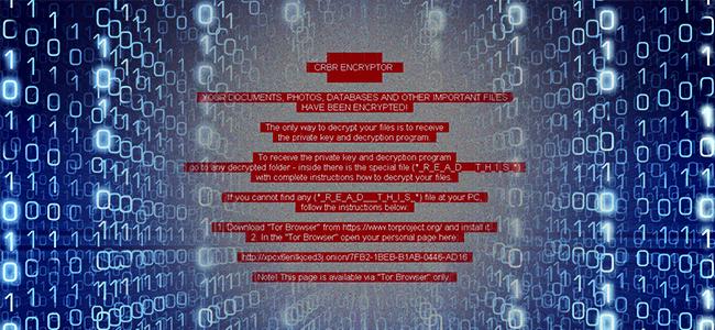 Cerber Ransomware Example in Matrix-min