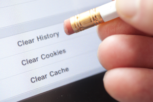 Clear Cookies and Cache