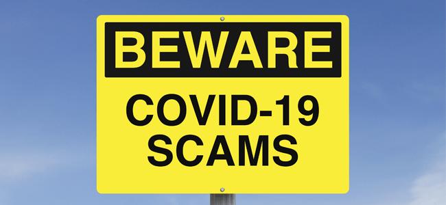 Coronavirus Scams Edited