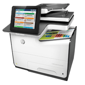 HP PageWide Managed Color MFP E58650