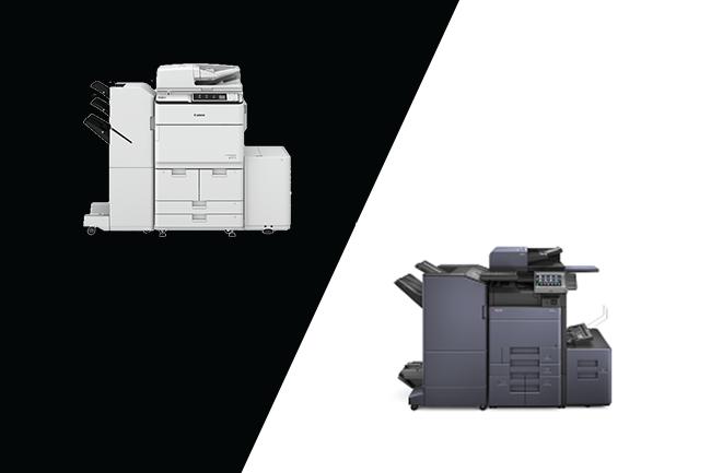 Kyocera vs Canon Copiers