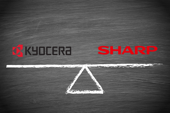 Kyocera vs Sharp Copiers