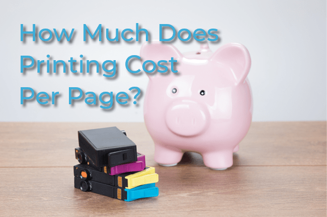 Printing Cost Per Page