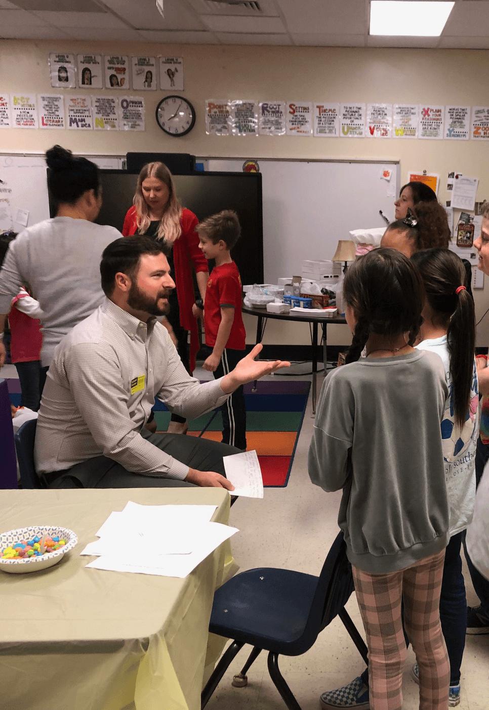 Murdock Elementary School Career Day