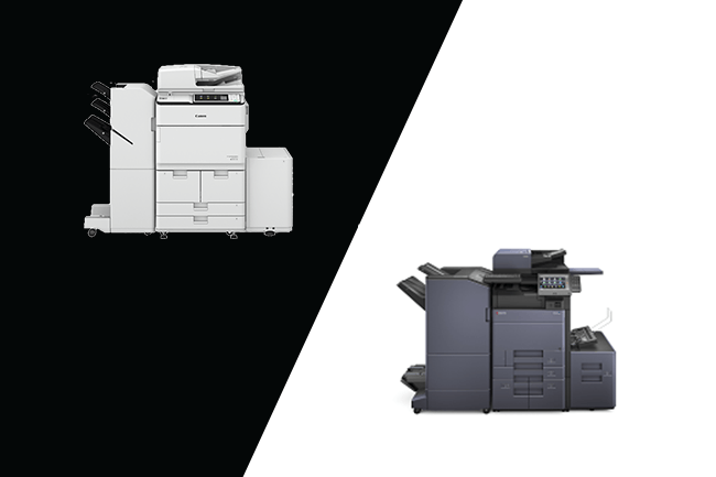 Kyocera vs Canon Copiers (Ratings + Reviews)