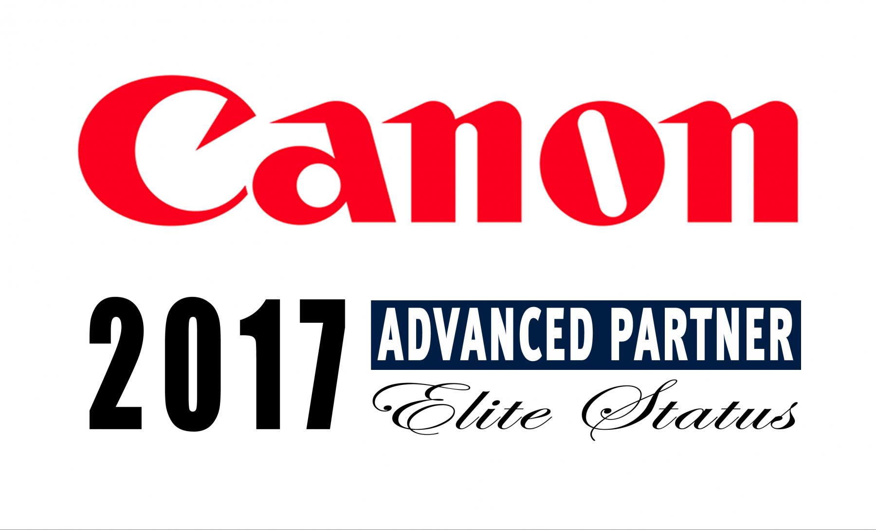 SOS Receives Canon's Top Dealer Award