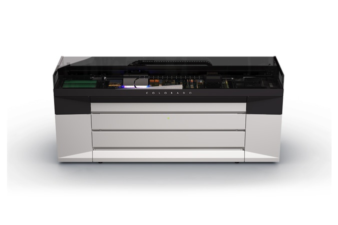 CANON LAUNCHES OCÉ COLORADO 1640, THE WORLD'S FIRST 64 INCH ROLL-TO-ROLL PRINTER BUILT ON CANON'S NEW UVGEL TECHNOLOGY