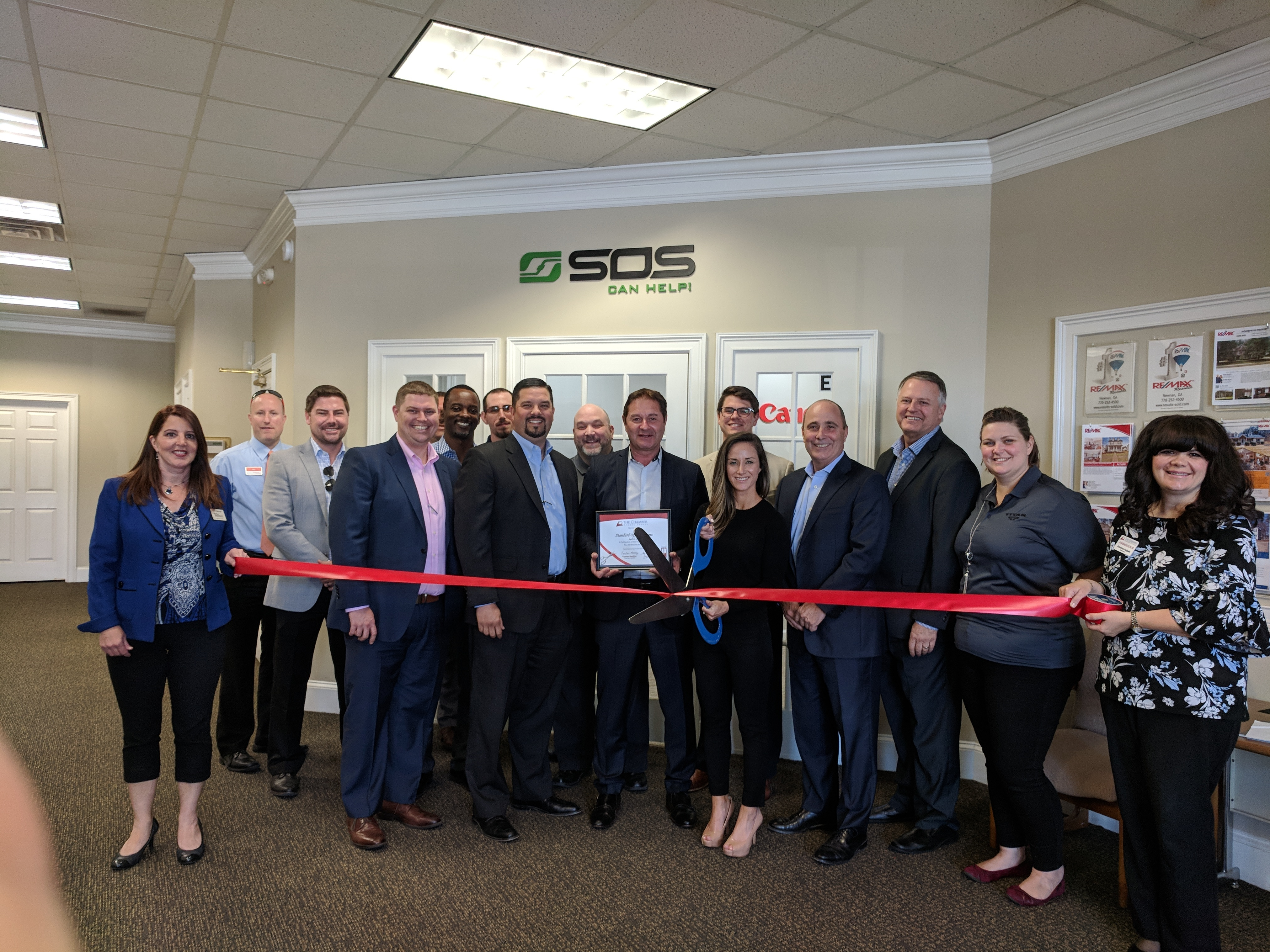 SOS Opens New South Office Building